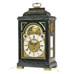 John Hallifax Musical Bracket Clock, London, mid-18th century (Lot 246, Estimate: $10,000-15,000)