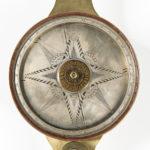 John Heilig Brass Surveyors Compass, Germantown, Pennsylvania, c. 1800 (Lot 404, Estimate: $3,000-5,000)