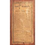 Simon Willard Inlaid Mahogany Isaiah Thomas Jr. Labeled Tall Clock, Roxbury, Massachusetts, c. 1800 (Lot 183, Estimate: $15,000-30,000)
