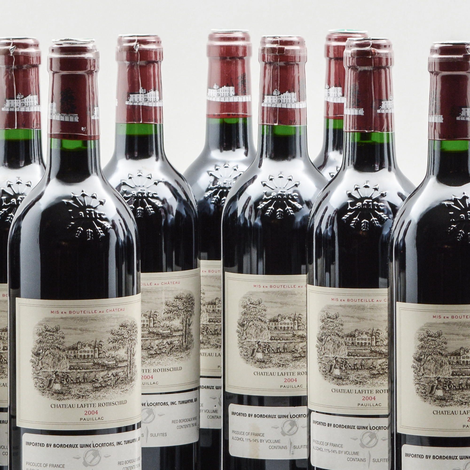 Chateau Lafite Rothschild 2004, 12 bottles