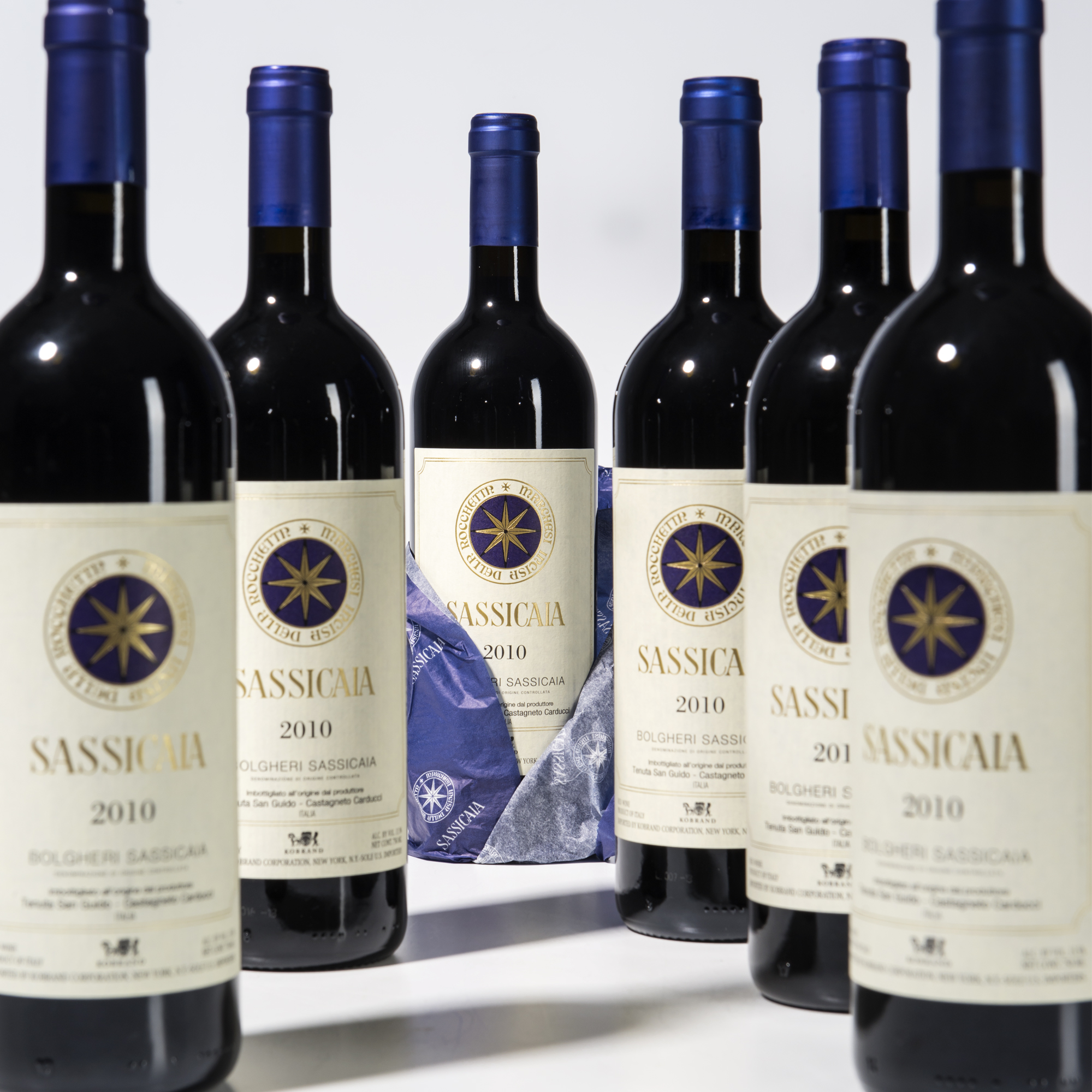 Tenuta San Guido Sassicaia 2010, 6 bottles