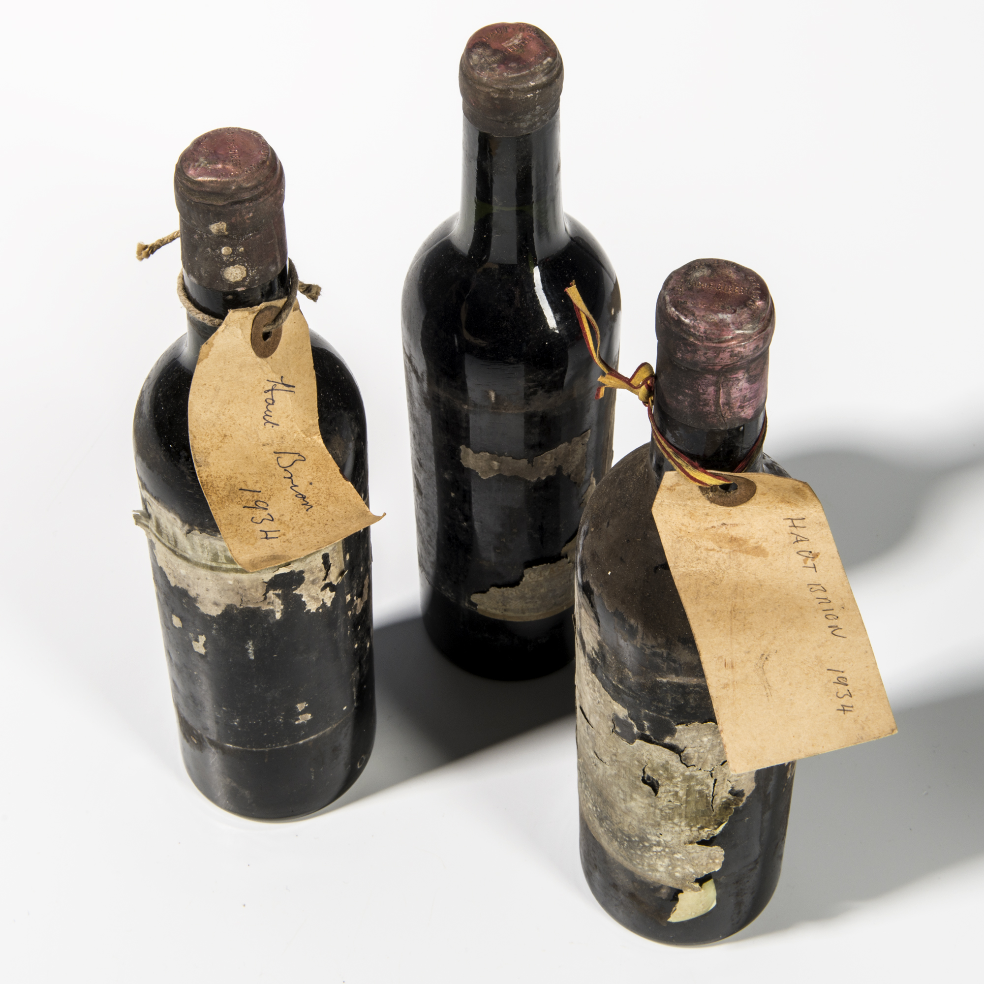 Chateau Haut Brion 1934, 3 demi bottles