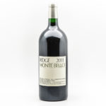 Ridge Monte Bello 2011, 1 3 liter bottle (Lot 333, Estimate: $350-450)