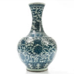 Large Blue and White Vase, China, late 19th century (Lot 26, Estimate: $800-1,000)