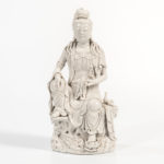 Dehua Figure of Guanyin, China, in the manner of He Chaozong (Lot 50, Estimate: $500-700)