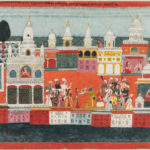 Painting Depicting Krishna Receiving a Garland, Nepal, late 18th century (Lot 454, Estimate: $7,000-9,000)