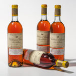 Chateau dYquem 1971, 4 bottles (Lot 84, Estimate: $1,100-1,500)