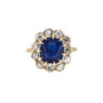 Antique Sapphire and Diamond Ring (Lot 36, Estimate: $60,000-80,000)