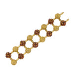 18kt Gold and Citrine Bracelet, Pomellato, c. 1960 (Lot 117, Estimate: $4,000-6,000)