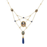 Egyptian Revival Bib Necklace (Lot 1099, Estimate: $2,000-3,000)