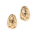 18kt Gold Earclips, Tiffany & Co. (Lot 1188, Estimate: $1,500-2,000)