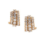 18kt Gold and Diamond Earrings, Tiffany & Co. (Lot 1191, Estimate: $1,000-1,500)