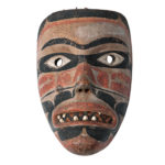 Northwest Coast Mask (Lot 259, Estimate: $30,000-40,000)