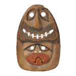 Eskimo Wood Polychrome Mask (Lot 279, Estimate: $4,000-6,000)
