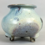 Junyao-style Tripod Censer, China (Lot 1218, Estimate: $300-500)
