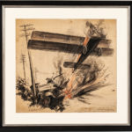 Ernest Fuhr, Atlee Meets The Landing, c. early 20th century (Lot 1839, Estimate: $600-800)