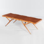 Ico and Luisa Parisi for Singer & Sons Walnut and Brass Coffee Table (Lot 377, Estimate: $10,000-15,000)