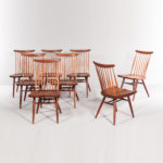 Eight George Nakashima (1905-1990) New Chairs (Lot 449, Estimate: $10,000-15,000)