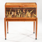 Silas Kopf Seahorse Marquetry Chest-on-Stand (Lot 462, Estimate: $6,000-12,000)