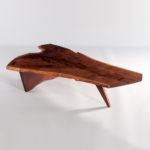 George Nakashima Black Walnut Slab Coffee Table (Lot 448, Estimate: $18,000-23,000)