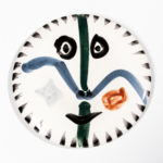 Pablo Picasso (1881-1973) Madoura Plate, Face No. 111 (Lot 232, Estimate: $6,000-8,000)