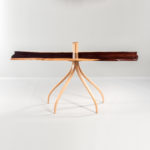 Richard Oedel Wild Rose Console Table (Lot 463, Estimate: $7,000-10,000)