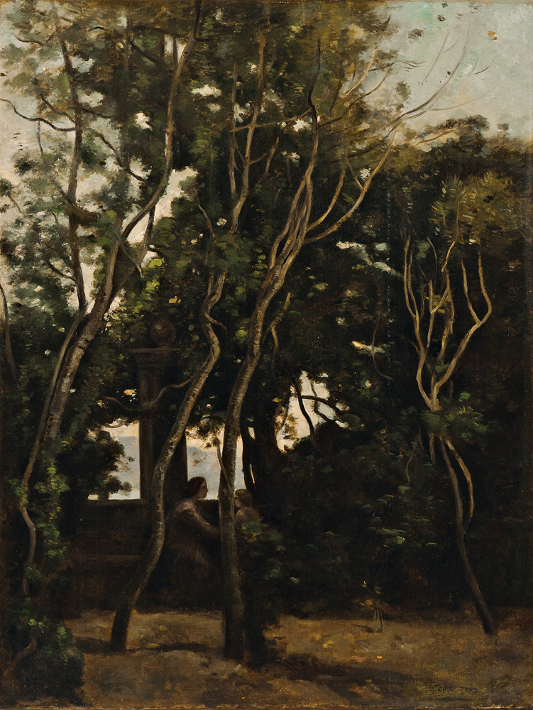 Jean-Baptiste Camille Corot (French, 1796-1875) and Achille François Oudinot (French, 1820-1891), Le Matin Sous Les Arbres (Lot 226, Estimate: $40,000-60,000)