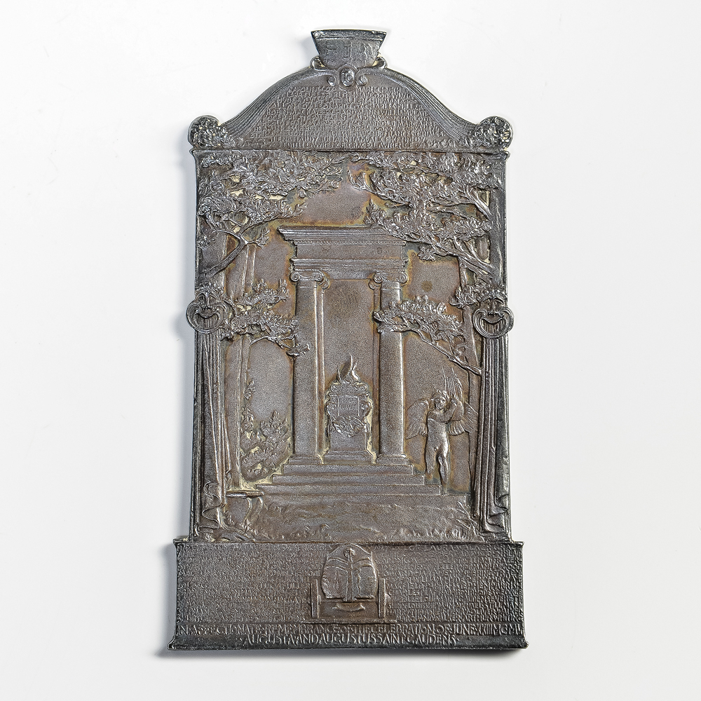 Augustus Saint-Gaudens (American, 1848-1907), Cornish Masque Plaquette (Lot 352, Estimate: $6,000-8,000)