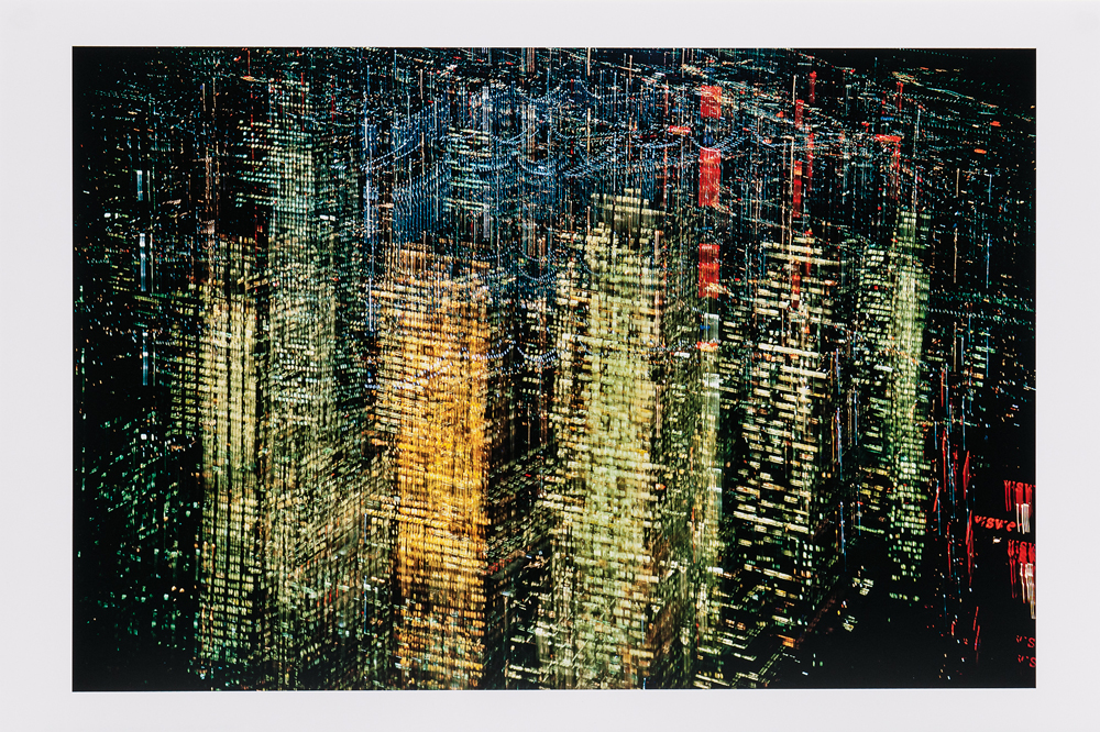 Ernst Haas (Austrian/American, 1921-1986) Lights of New York City, 1970, printed 2018 (Lot 126, Estimate: $3,000-5,000)