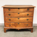 Chippendale Birch Bow-front Chest of Drawers (Lot 142, Estimate: $600-800)