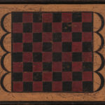 Polychrome Maple Checkerboard (Lot 293, Estimate: $300-500)