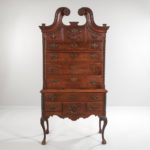 Queen Anne Connecticut-type Carved Cherry High Chest (Lot 322, Estimate: $4,000-6,000)