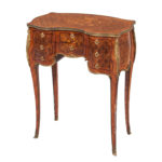 Paul Sormani Kingwood- and Mahogany-veneered Ormolu-mounted Dressing Table (Lot 443, Estimate: $500-700)