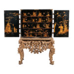 Japanned Cabinet on Stand (Lot 375, Estimate: $5,000-10,000)