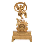 Gilt-bronze Mantel Clock (Lot 460, Estimate: $1,200-1,800)