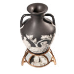 "Wedgwood Solid Black Jasper ""Northwood"" Copy of the Portland Vase (Lot 351, Estimate: $15,000-25,000)"