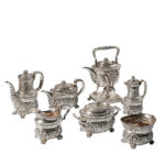 Seven-piece Tiffany & Co. Sterling Silver Tea and Coffee Service (Lot 79, Estimate: $5,000-7,000)