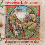 Illuminated Manuscript Leaves (Lot 128, Estimate: $800-1,200)