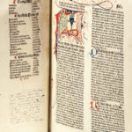 Bible, Latin. Biblia Latina with Additions by Menardus Monachus (Lot 42, Estimate: $8,000-12,000)