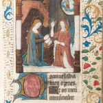 Book of Hours, Latin, Use of Paris, c. 1500, not after 1526 (Lot 51, Estimate: $10,000-15,000)