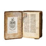 Nicolaus de Ausmo (d. 1453) Supplementum Summae Pisanellae, Manuscript on Parchment (Lot 168, Estimate: $10,000-15,000)