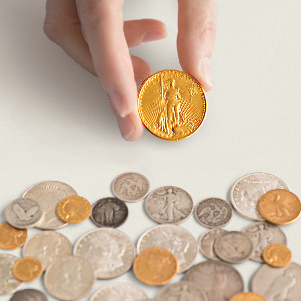 Coins at auction