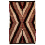 Navajo Rug (Lot 1438, Estimate: $300-500)