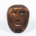 Eskimo Whale Bone Mask (Lot 1313, Estimate: $500-700)