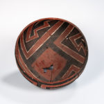 Mogollon Polychrome Pottery Bowl, Four Mile (Lot 1571, Estimate: $400-600)