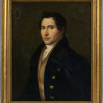 Anglo/American School, 19th Century, Portrait of a Gentleman (Lot 1592, Estimate: $20-200)