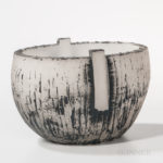 Akihiro Isogai <i>Earth Cradle.74</i> Art Glass Sculpture (Lot 1025, Estimate: $100-300)