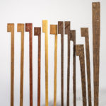 Twenty-two Pieces of Alternative Bow Wood (Lot 1270, Estimate: $20-200)