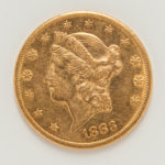 1883-CC $20 Liberty Head Double Eagle Gold Coin (Lot 1225, Estimate: $1,400-1,600)