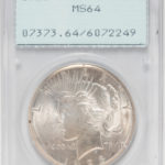 1928 Peace Dollar, PCGS MS64 (Lot 1046, Estimate: $400-600)